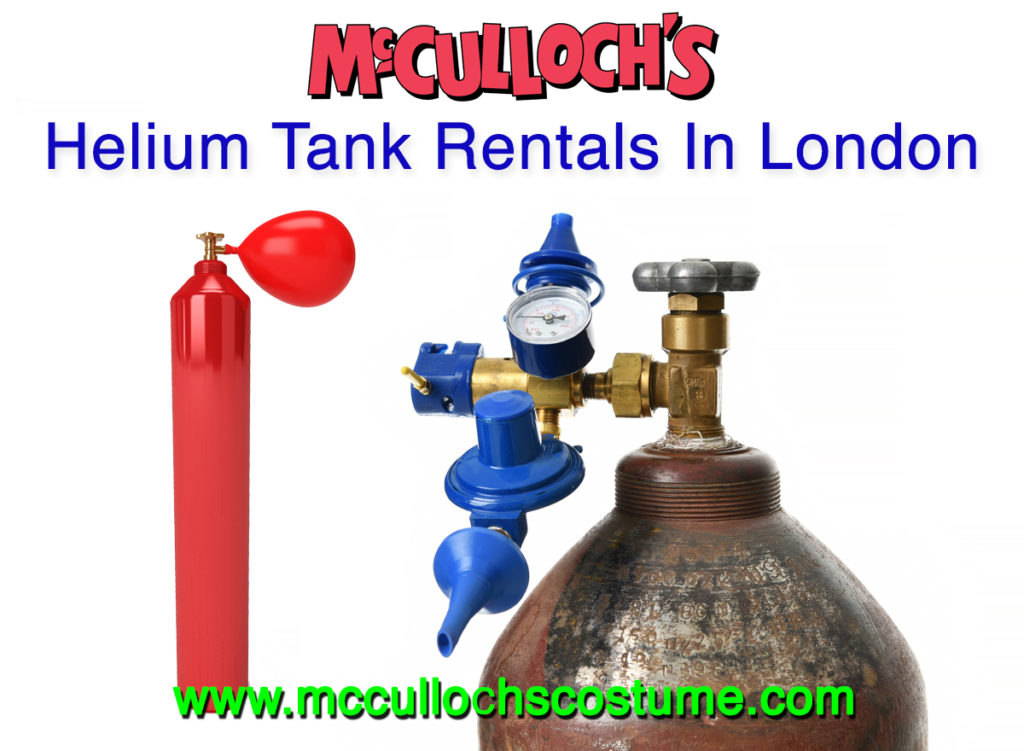 Rent a helium tank in London Ontario