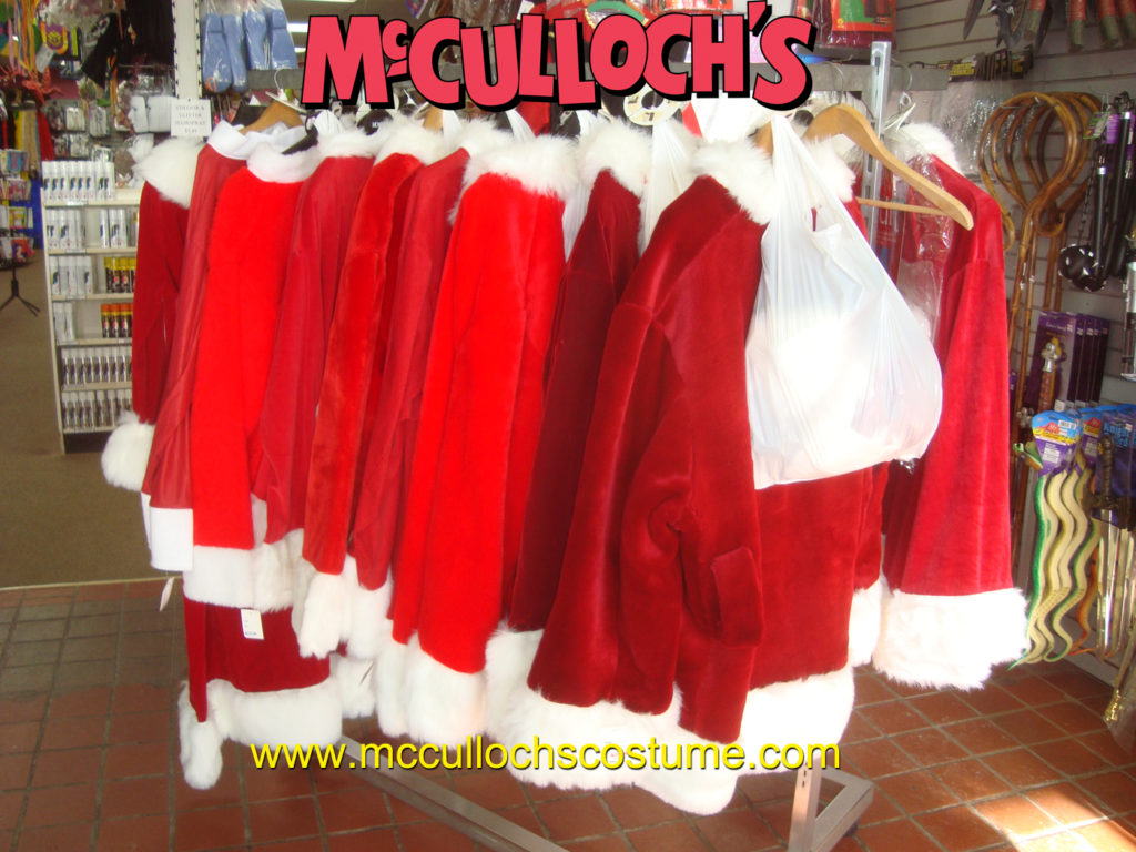 Santa suits in London Ontario