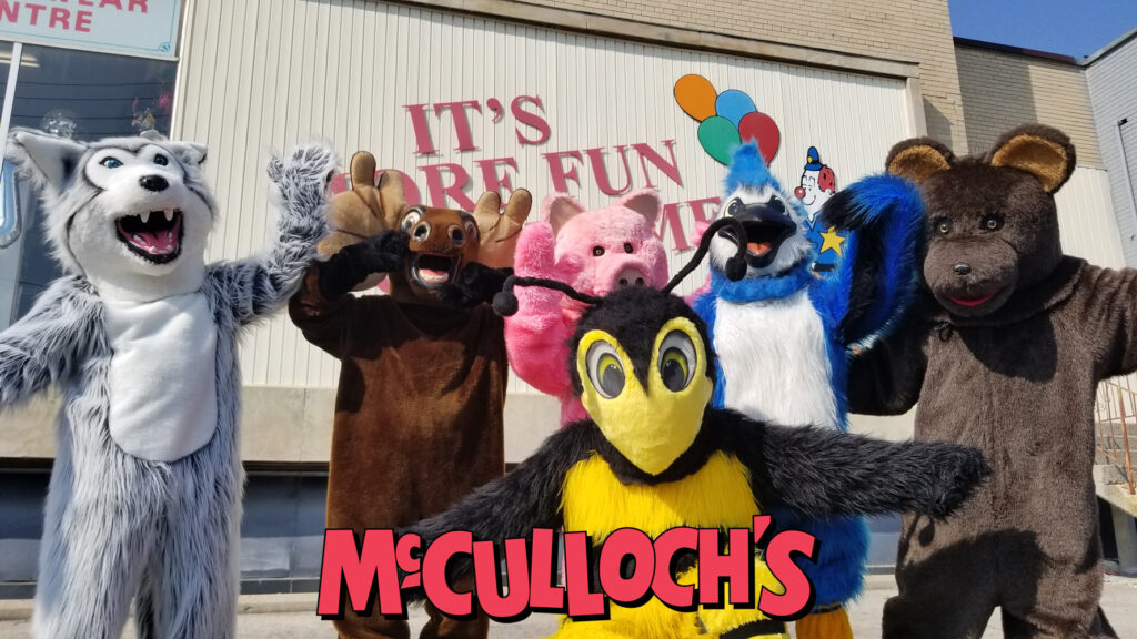 Mascot Costumes in London Ontario