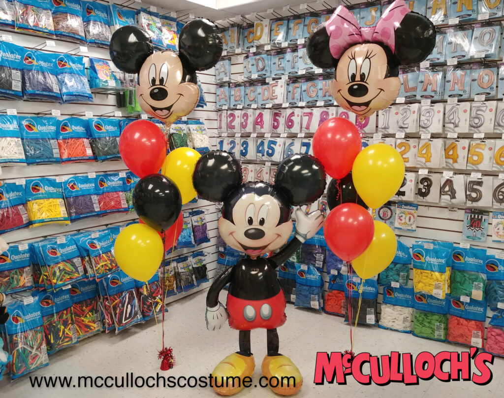 Micky and Minnie Mouse Balloons in London Ontario