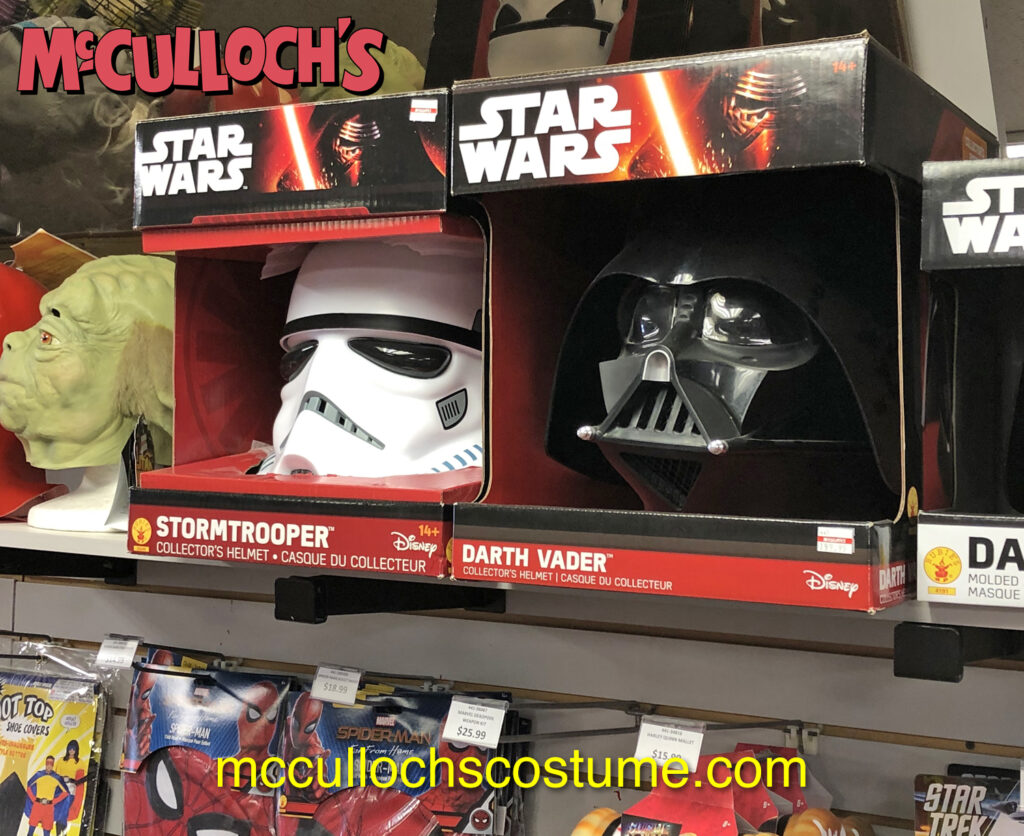 Star Wars masks in London Ontario