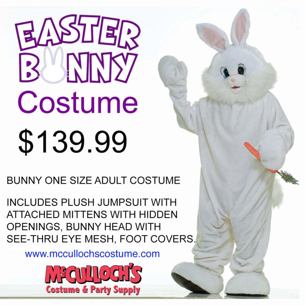 Easter Bunny Costume Sales