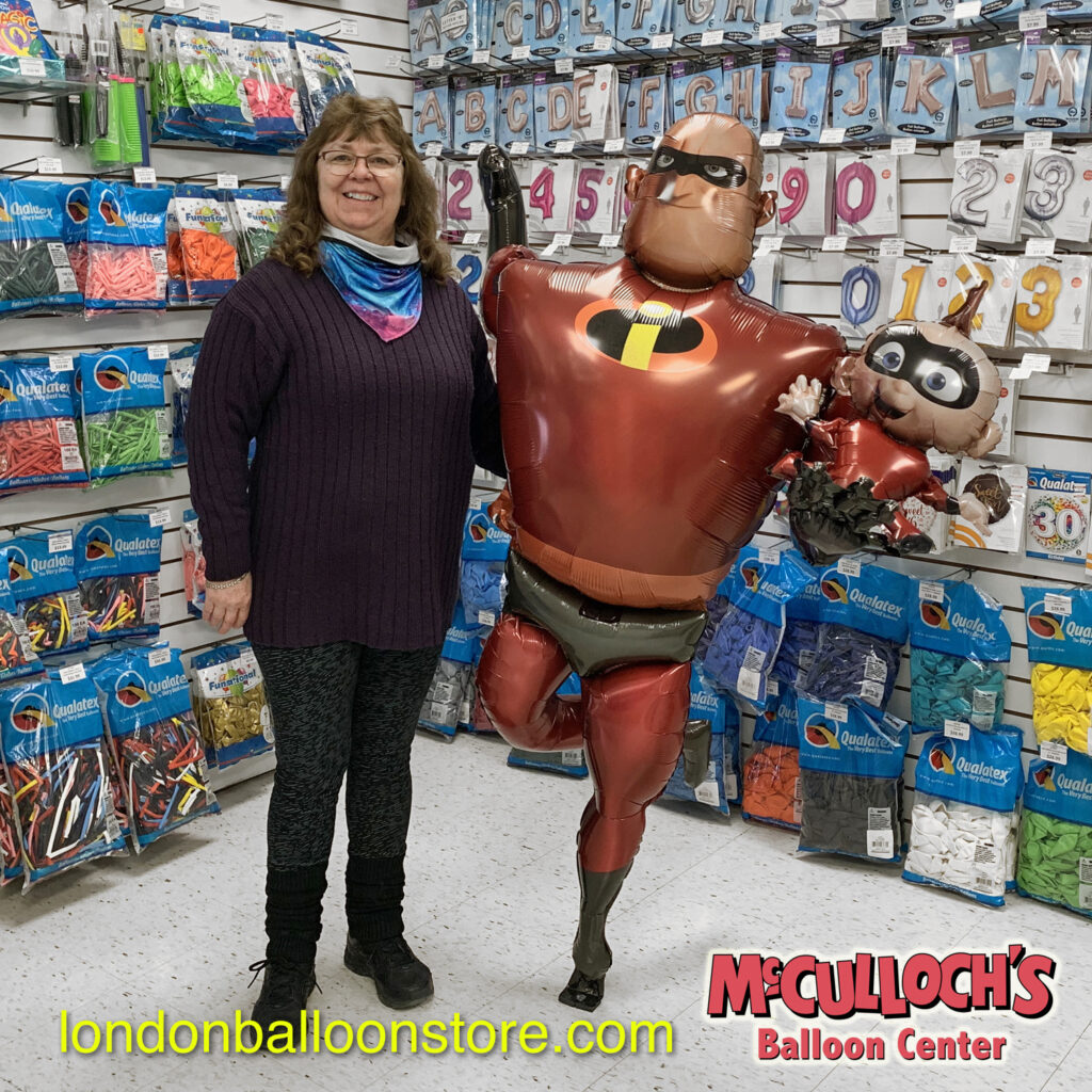 Mr Incredible Balloon