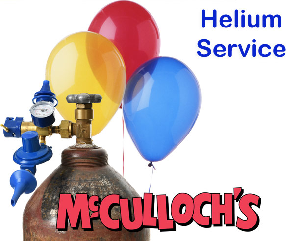 Helium and Helium Tanks in London Ontario