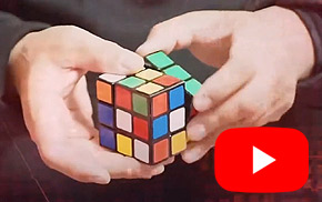 Jump Cube Magic Trick with Rubics Cube in London Ontario